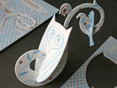 _0007_Baker_holiday_2009_letterpress_ornament_assembled2 #ornament