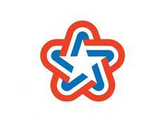 U.S. Bicentennial | Chermayeff & Geismar #mark #red #america #logo #united #star #usa #blue