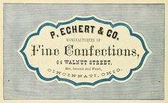 coqueterías #packaging #confections #vintage #label