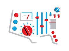 esq_USA.jpg #design #graphic #switches #meters #illustration