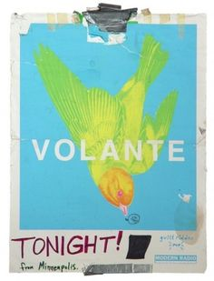 Chimes&Rhymes | innovative design and new techniques in visual artistry #volante #tape #poster #bird