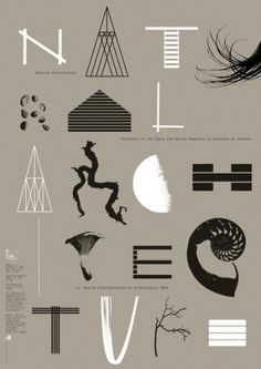 Natural Architecture | graphic design studio | Side2 #czech #architecture #side2 #poster