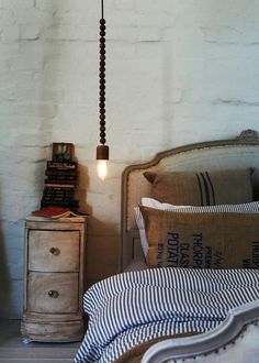 Bright Beads Wooden Lamps by Marz Designs Photo #interior #design #decoration