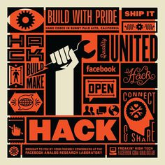 Ben Barry Hack Poster #analog #facebook #research lab