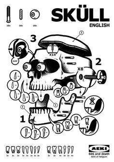 Sküllby Musketon #illustration #skull