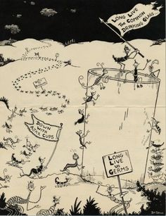 JESS3 - Blog / Dr. Seuss: Before He Drew Great Children's Illustrations, He Drew Great Ads #advertising #cartoon #seuss