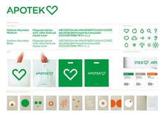 Apotek Hjärtat #logotype #white #branding #icon #corporate #brand #logo #green