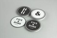 Five & Dime #coasters