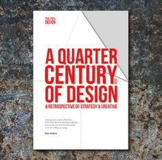 Paul Vickers : Design Thinking #design #years #book #poster #25 #century #quarter