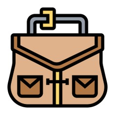 See more icon inspiration related to bag, business and finance, portfolio, briefcase, business and suitcase on Flaticon.