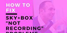 #sky_hd_box_stopped_recording #sky_tv_recording_problems #sky_plus_box_not_recording