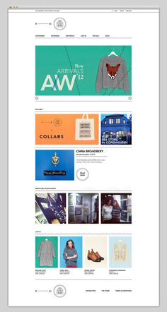 B56 #design #website #grid #store #layout #web