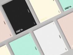 Olli.co Agency Identity - Mindsparkle Mag Nostalgic branding for a contemporary, Los Angeles based agency designed by graphic designer Lyndi Priest from San Francisco, California. #packaging #logo #identity #branding #design #color #photography #graphic #design #gallery #blog #project #mindsparkle #mag #beautiful #portfolio #designer