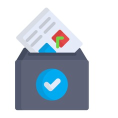 See more icon inspiration related to vote, document, box, files and folders, elections, votes, election, vase, check mark, archive, communications and file on Flaticon.