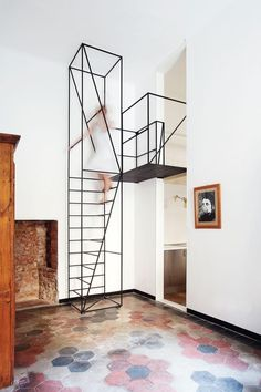 Metal Stairs » Home and Decor #steel #stairs #interiors #architecture
