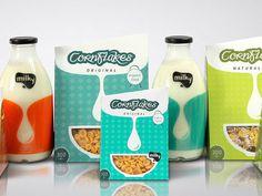 Milky Package design #packaging #food