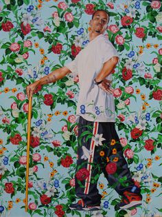 Kehinde Wiley painting #swag #painting #york #barock #new