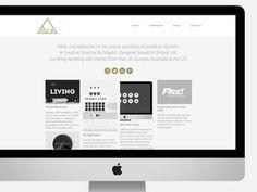 SJQ Portfolio website (In development) #iconse #ux #portfolio #icons #ui #website #bristol #mono #studio #gold #studiojq