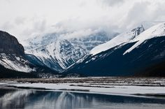 Northern Moments by katie de bruycker #inspiration #mountain #photography #snow