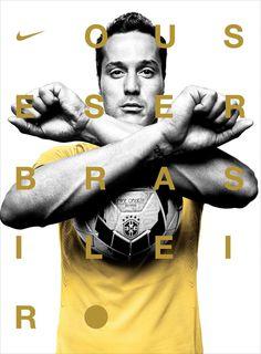 PLATON'S NIKE PHOTOGRAPHS OF BRAZIL'S NATIONAL FOOTBALL TEAM