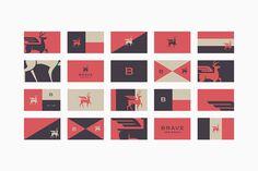 Studio MPLS, stationary, design, deer, horns