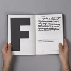 Gridness #print #barbican #futura #layout #typography