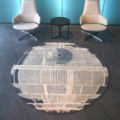 Death Star Rug #tech #flow #gadget #gift #ideas #cool