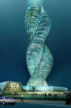 Cobra Towers in Kuwait the mystery #towers #building #architecture #tower #cobra