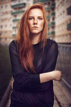 Godness #photography #redhair #woman #people
