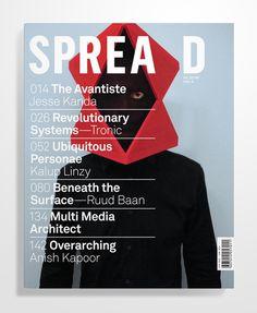 Spread Magazine   some work by kent r miller (graphic designer)