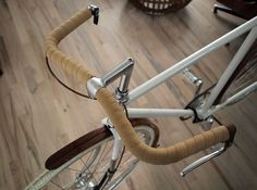 French Porteur Handlebar | Wood&Faulk #culture #design #inspiration #bike