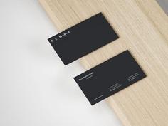 Slim Business Card Mockup on Behance
