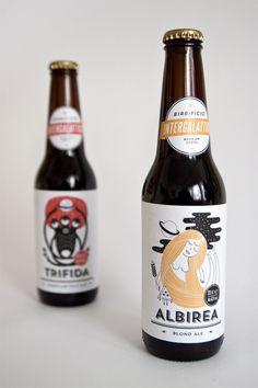 Intergalactic Brewery - Packaging by Dry Design #graphic design #design #identity #packaging #label #package design #beer bottle