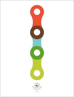 FFFFOUND! #bike #chain #colour