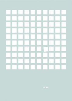 ocd #ocd #simple #grid #poster #clever #organized