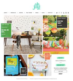 ohjoy home #web