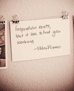 Quote Pablo Picasso
