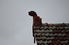 animal #finial #roof #creature