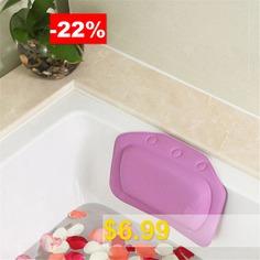 SPA #Bath #Pillow #Home #Bathtub #Pillow #PVC #Neck #Bathtub #Cushion #Neck #Pillow