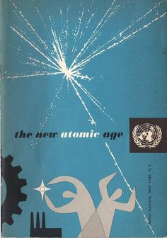 Hand Drawn by Hand #cover #illustration #atomic #united #nations #age #york #factory #worker #new