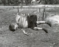 FFFFOUND! #blackwhite #clothes #kid #retro #vintage #pins #hanging