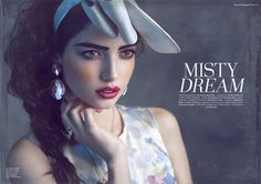 Misty Dream on Behance #page #spread #photography #fashion #editorial #magazine
