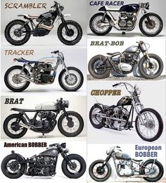What kind of motorcycle do you want?
