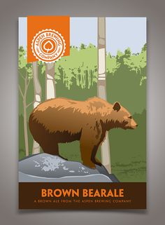 Aspen Brewing Company Packaging #beer #poster