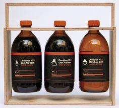 Demijhon No. 02 Beer, Ifat Zexer #packaging #beer #chemistry