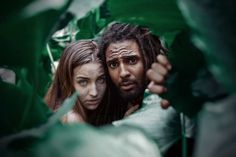 Adrian McDonald Recreates Biblical Story Of Adam And Eve