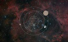Avracadavra on the Behance Network #pogo #geometry #avracadavra #space #mystical