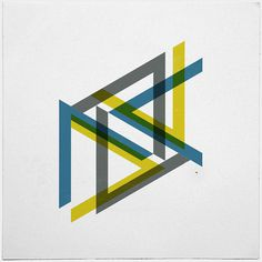 #443 Indecisions – A new minimal geometric composition each day