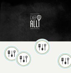 JenSerafini_ChefAlli_01 #design #graphic #jenserafini #identity