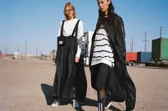 y 3 spring summer 2019 collection campaign y3 adidas ss19 Yohji Yamamoto info details information pictures images lookbook angelo pennetta clothes cost where to buy women mens black white jacket outerwear jacjets backpack pants shirt t tee